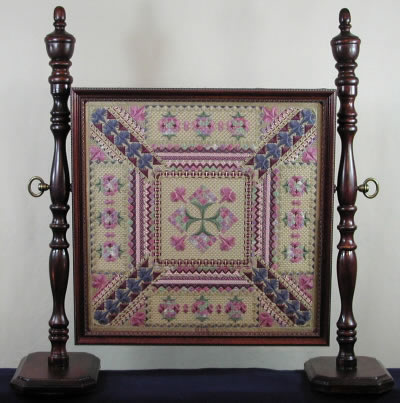 Victorian Ribbions Fire Screen